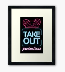 Takeout Productions Logo Framed Print