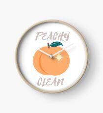 Peachy sauber Uhr