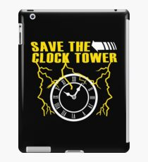 Save The Clock Tower Funny Geek Nerd iPad Case/Skin