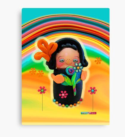 CHUNKIE Sunshine Canvas Print