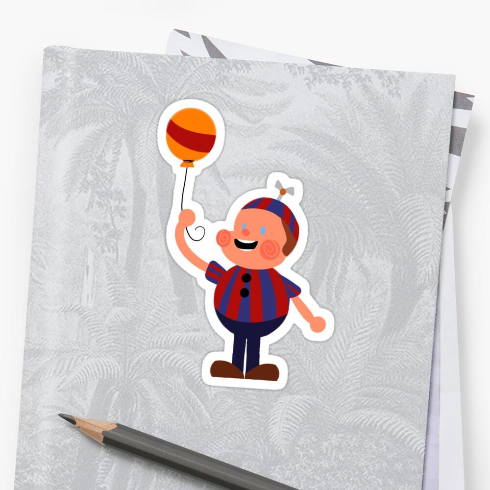 Fnaf 2 Balloon Boy Sticker Pack Stickers By Fennessfennec Redbubble