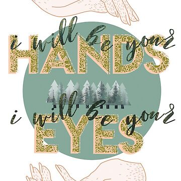 Seré tus manos, seré tus ojos de apollinares