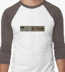 Military: Veteran Baseball ¾ Sleeve T-Shirt