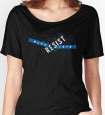 Resist Blue ISIS Women's Relaxed Fit T-Shirt