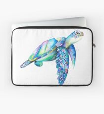 Rainbow Turtle  Laptop Sleeve