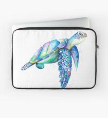 Rainbow Sea Turtle Laptop Sleeve