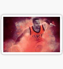 Russell Westbrook Design Sticker