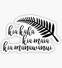 Custom New Zealand Sticker Sticker