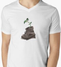 Living Evidence Boot V-Neck T-Shirt