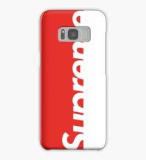 Supreme™ Red  Samsung Galaxy Case/Skin