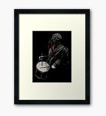 War Drummer Framed Print