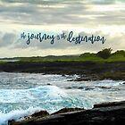"""""""The journey is the destination"""" Hawaii black sand beach by Luceworks"""