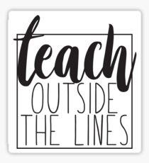 Teach Sticker