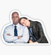 Brooklyn Nine Nine- Holt and Jake  Sticker