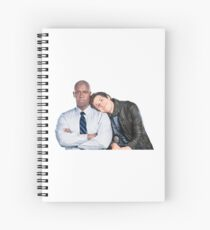 Brooklyn Nine Nine- Holt and Jake  Spiral Notebook