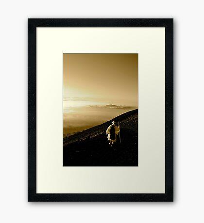 Japanese Pilgrimage Framed Print