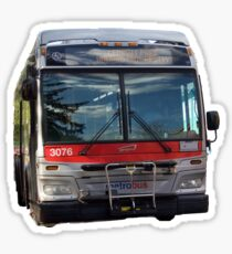 MetroBus DC Sticker