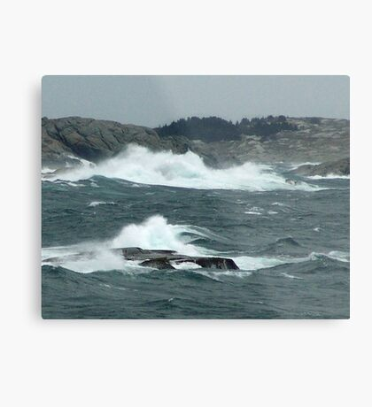 Rock-Bound Coast (2) Metal Print