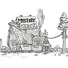 The Mystery Shack by allicyndraws
