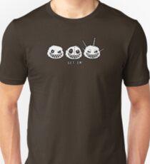 Fuzzle Get Em' Outlined Tee Unisex T-Shirt