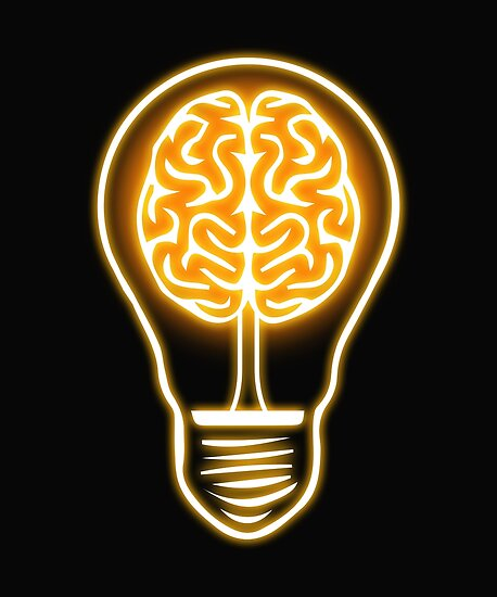 Light Bulb Idea Abstract Brain Mindfulness Cool Graphic By Essetino