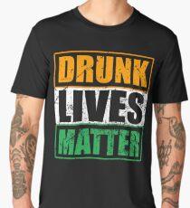 Drunk Lives Matter Irish Shirt St Patrick Day Gift Men's Premium T-Shirt