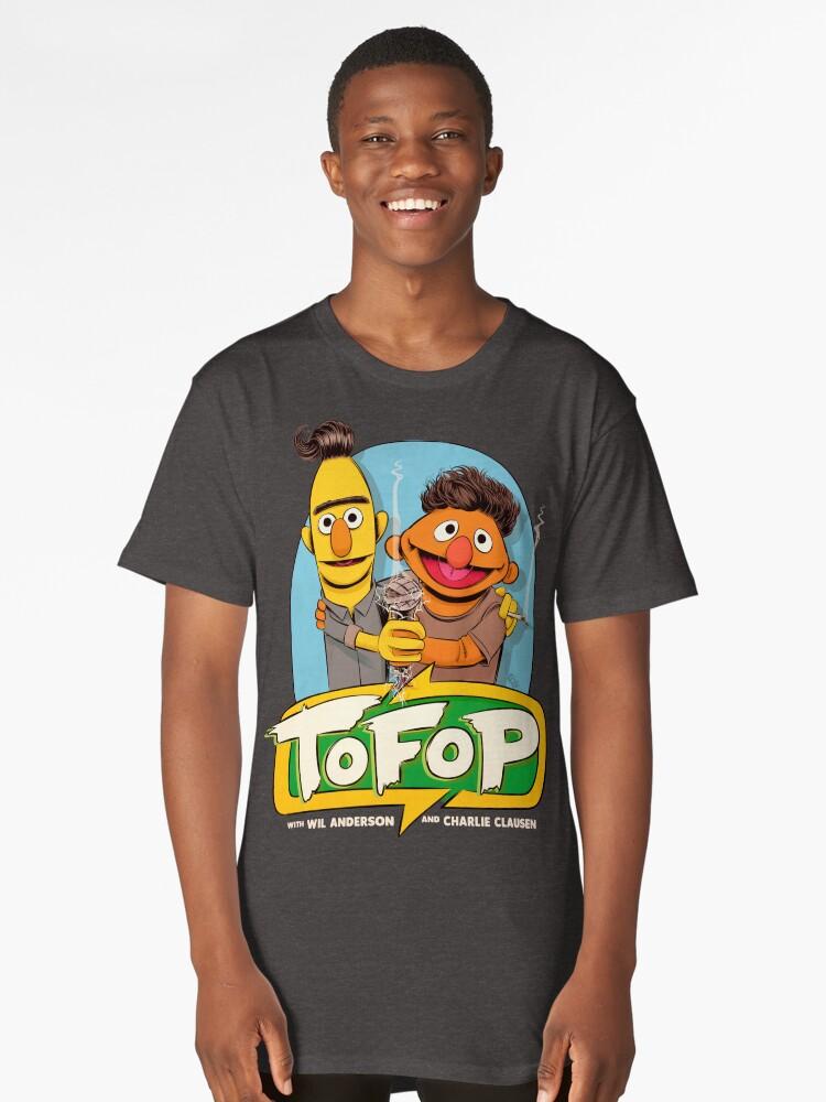 TOFOP STREET Long T-Shirt Front