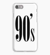 90's Kid iPhone Case/Skin
