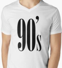 90's Kid Mens V-Neck T-Shirt