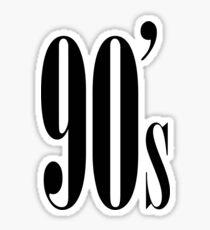 90's Kid Sticker