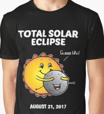 Total Solar Eclipse Guess Who? Graphic T-Shirt