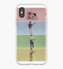 Flusspferd Campus violett iPhone-Hülle & Cover