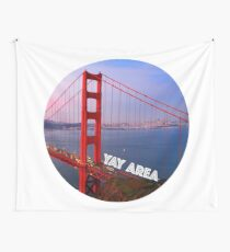 San Francisco Golden Gate Yay Area Wall Tapestry