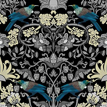 Flowers & Tui - Grey by iskamontero