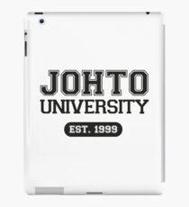Johto university iPad Case/Skin