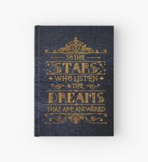 To the stars who listen Hardcover Journal