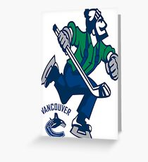 Canucks Greeting Card