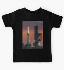 Spacex Falcon Heavy Epic Sky Kids Tee