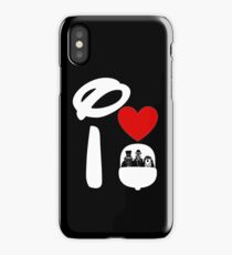 I Heart Haunted Mansion (Inverted) iPhone Case