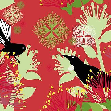 Kiwi Christmas by iskamontero
