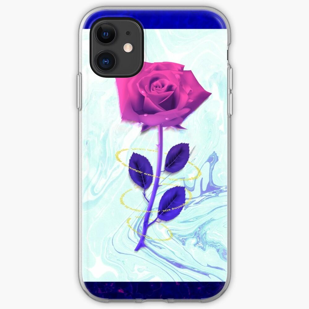 Arien Rose iPhone Soft Case