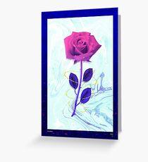 Arien Rose Greeting Card