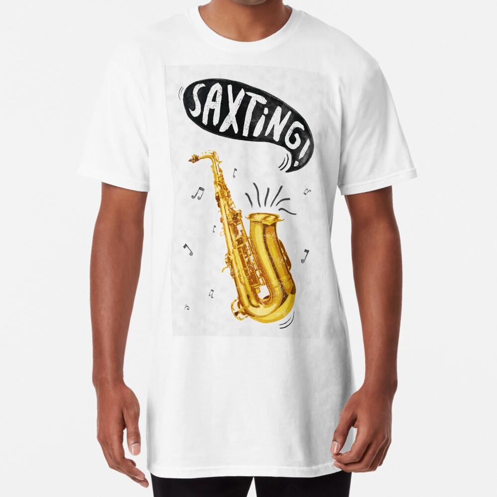 Saxting! Long T-Shirt