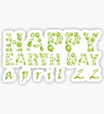 Earth Day Celebration 3 Sticker