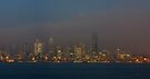 Seattle Skyline At Dusk.  by Todd Rollins