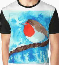 The Winter Robin Graphic T-Shirt