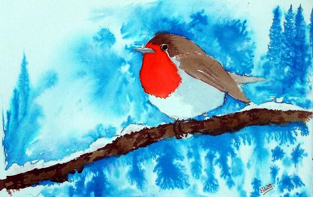The Winter Robin by Pat  Elliott
