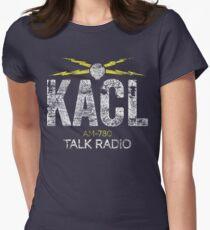 KACL AM-780 Talk Radio Women's Fitted T-Shirt