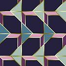 Ultra Deco 3 #redbubble #ultraviolet #artdeco by designdn