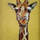 Giraffe Face by Cherie Roe Dirksen